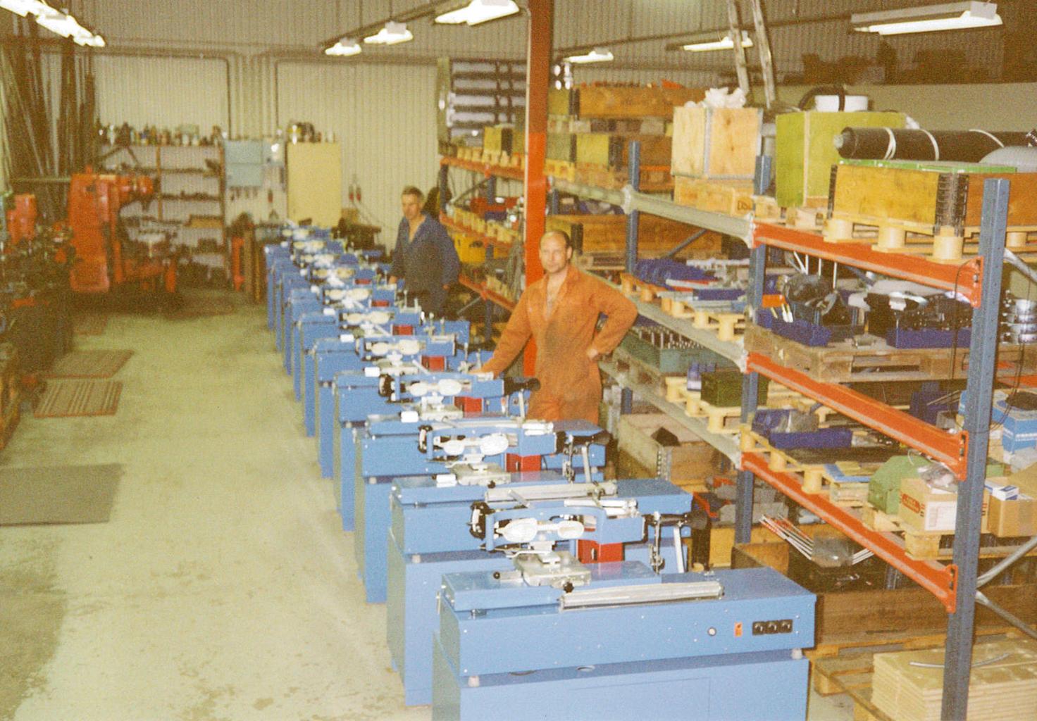 Produktionslinje av SSM 900